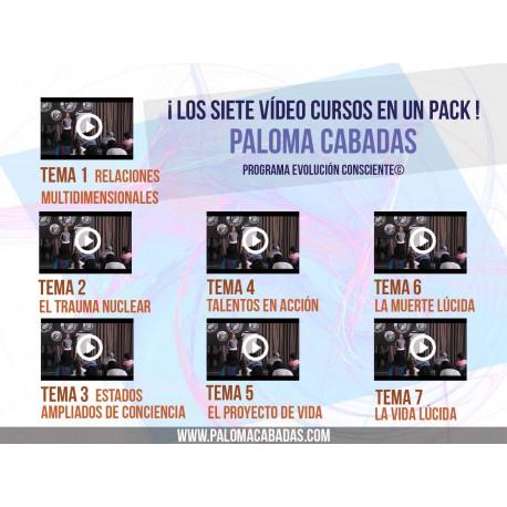 PACK vídeo cursos. Los siete temas.