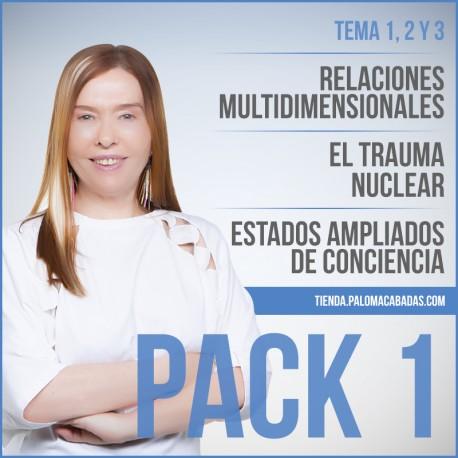 PACK 1. Temas 1, 2, 3, en Mp3