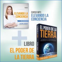 Curso Elevando la Conciencia + Libro Poder de la Tierra